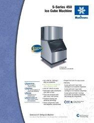 S-Series 450 Ice Cube Machine - MyChefStore.com