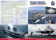 THE Uk's AIRCRAFT CARRIER CAPABILITY