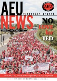 LOVE for TED - Australian Education Union, Victorian Branch