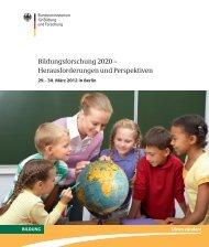 Tagung Bildungsforschung 2020