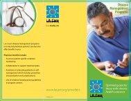 Disease Management Programs - LA Care Health Plan