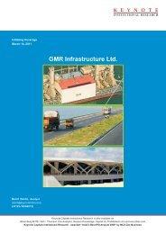 GMR Infrastructure Ltd. - Keynote
