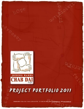 USA Portfolio 2011 - Chab Dai
