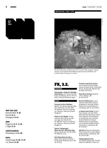 Fr, 3.2. - Woxx
