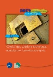 Choisir des solutions techniques adaptées pour l'assainissement ...