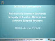 Regulation of Technical Integrity of ADF Materiel
