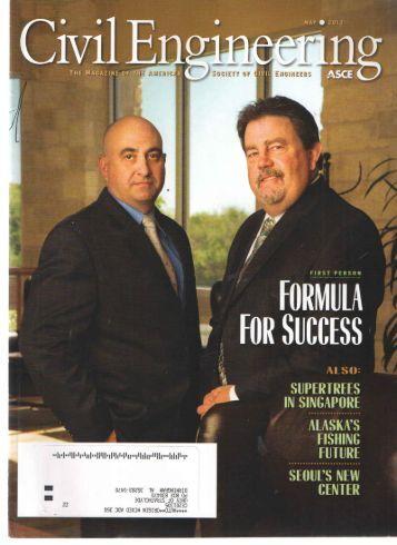 Civil Engineering Vol 83 Issue No 5 May 2013 - DLSU-D