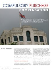 COMPULSORY PURCHASE - International Right of Way Association