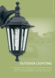 OUTDOOR LIGHTING - WF Senate