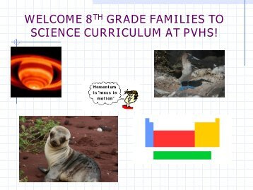 Open House PowerPoint (PDF version) - Palos Verdes High School