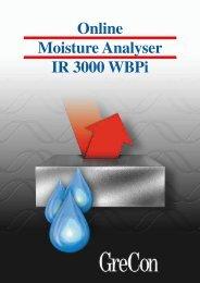 Online Moisture Analyser IR 3000 WBPi