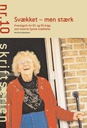 Svækket – men stærk - Able - Annette Johannesen