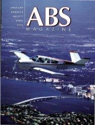 April 2006 - American Bonanza Society