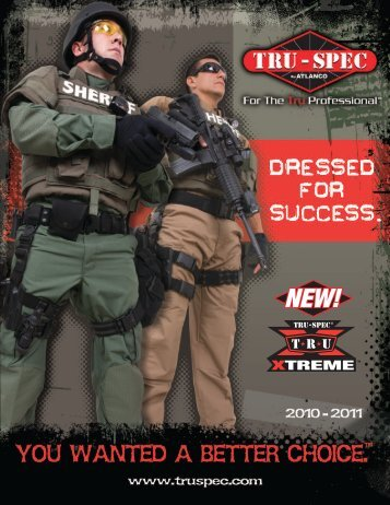 TRU-SPEC CATALOG Part 1 - Public Safety Equipment Company LLC