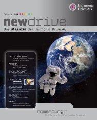 Zweistufiger Servoantrieb - Harmonic Drive AG