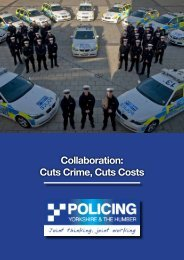Collaboration: Cuts Crime, Cuts Costs - West Yorkshire Police