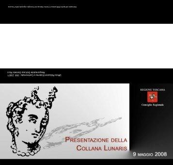 Collana Lunaris - Comune di Pontedera