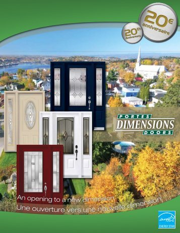 Une ouverture vers une nouvelle dimension - Portes Dimension