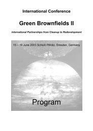 Green Brownfields II - CiF Kompetenz-Zentrum für interdisziplinäres ...