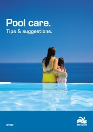 Pool care booklet - BioGuard