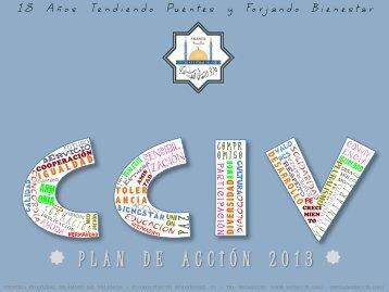 PLAN DE ACCIÓN 2013 - Centro Cultural Islámico de Valencia