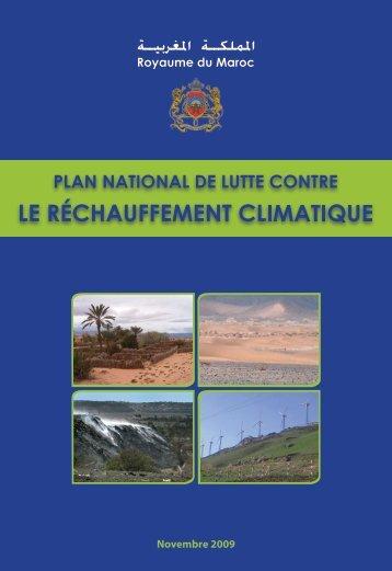 Plan national de lutte contre le réchauffement climatique