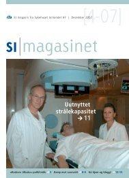 SI Magasinet nr 4-2007 - Sykehuset Innlandet HF