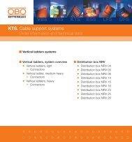 KTS. Vertical ladders systems - getel.gr