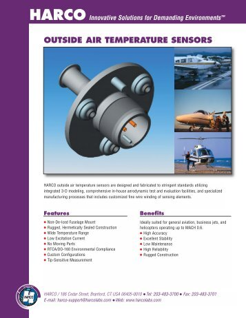 OAT Sensors flyer - Harco