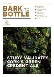 STUDY VALIDATES CORK'S GREEN CREDENTIALS - Amorim Cork