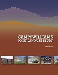 Camp Williams Joint Land Use Study - Lehi City