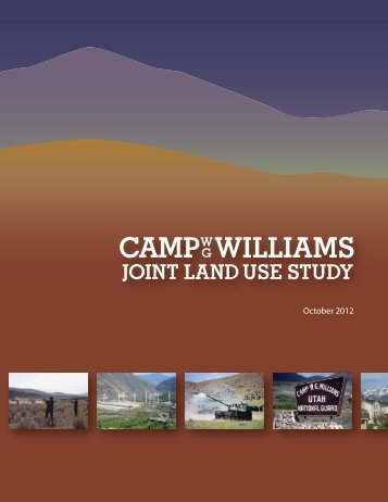 Camp Williams Joint Land Use Study - Lehi City