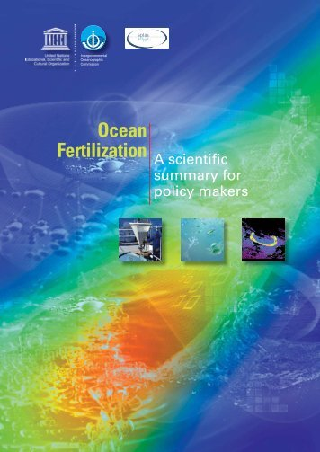 Ocean fertilization: a scientific summary for policy makers; 2010 - IGBP