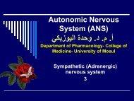 Autonomic Nervous System (ANS)3