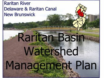 Raritan Basin Watershed Management Plan
