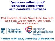 Quantum reflection of ultracold atoms from semiconductor surfaces