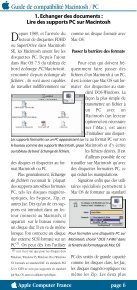 Guide de compatibilité Macintosh/PC - Page 2