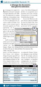 Guide de compatibilité Macintosh/PC - Page 4