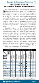 Guide de compatibilité Macintosh/PC - Page 5
