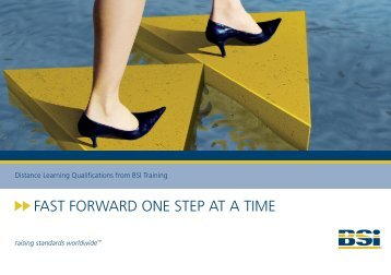 FaST ForwarD one STep aT a TIme - BSI