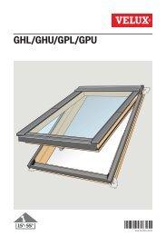 GHL/GHU/GPL/GPU - Velux