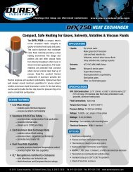 DFX750 Cast Circulation Heater - Durex Industries
