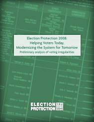 Election Protection 2008 - The Lawyers' Committee for Civil Rights ...