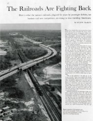 The Railroads Are Fighting Back - The Saturday Evening Post