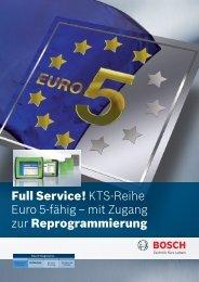 KTS-Reihe Euro 5-fähig - Bosch - Werkstattportal