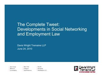 The Complete Tweet: Developments in Social Networking and ...