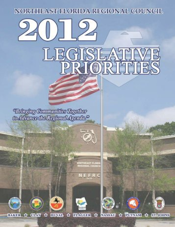 2012 Legislative Priorities - Northeast Florida Regional Council
