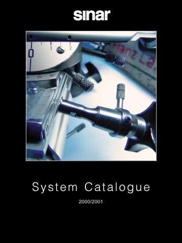 System Catalogue - Dicam