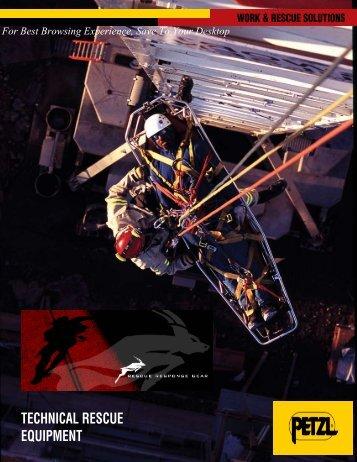 TECHNICAL RESCUE EQUIPMENT - Rescue Response Gear