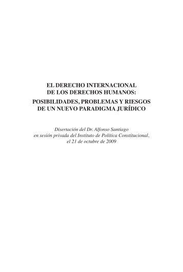 El DErEcho IntErnacIonal DE los DErEchos humanos - Academia ...